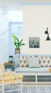 Light Blue Wall Trim