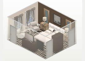 E-Design 3D Layout